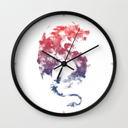 Dragon's Myth Wall Clock
