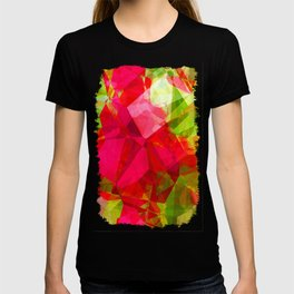 Crape Myrtle Abstract Polygons 1 T-shirt