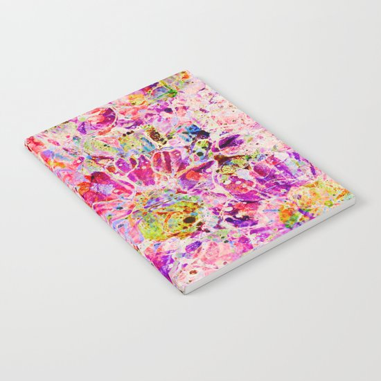 floral mosaic Notebook