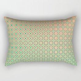 Shiny buttons retro pattern Rectangular Pillow