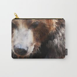 Bear // Gold Carry-All Pouch