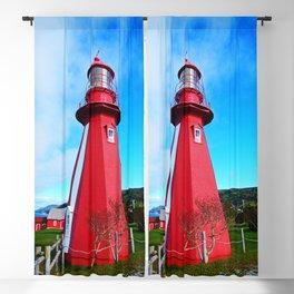 Lighthouse and Gaspesian Coast Blackout Curtain