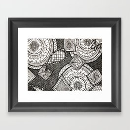 Bobbles Framed Art Print