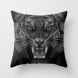 Heart of a Tiger Throw Pillow