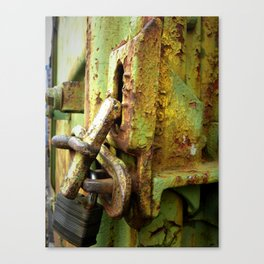 Train Lock Canvas Print