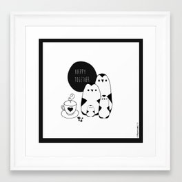 The Penguins Framed Art Print