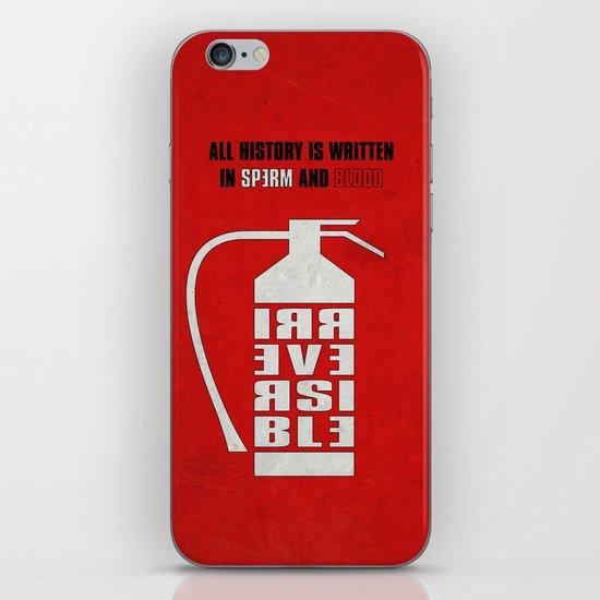 Irreversible iPhone & iPod Skin