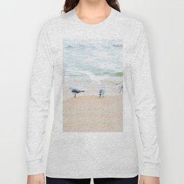 Beach Birds Long Sleeve T-shirt