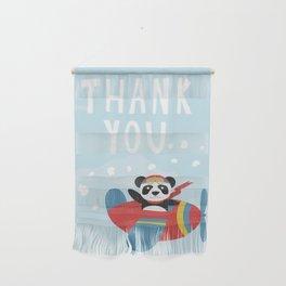 Panda says Thanks! Wall Hanging