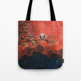 Owl Art by MiMi Stirn - Owl Singles #337 Tote Bag