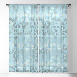 SAFARI TURQUOISE Sheer Curtain