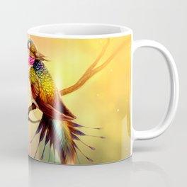 Beautiful Fantasy Fable Animal Bird Body Fox Dog Head Eating Nectar Ultra HD Coffee Mug