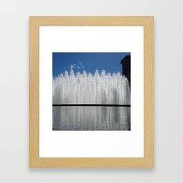 Bloch Fountain not a Block Framed Art Print