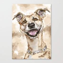 My Pet  Canvas Print