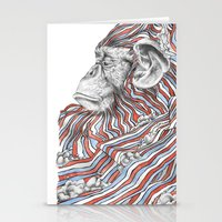 ape Stationery Cards featuring Ape by Guillem Bosch