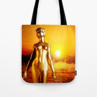 alchemy Tote Bags featuring Alchemy by Danielle Tanimura
