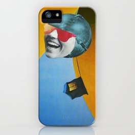 Collapsed Head iPhone Case
