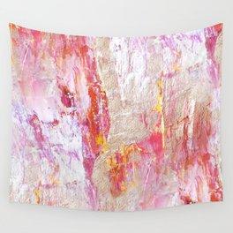 Peach Cobbler Wall Tapestry