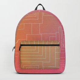 Art Deco sunset Backpack
