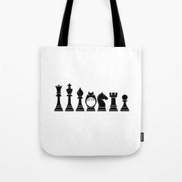 Chess Anime Character Tote Bag