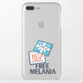 Free Melania Clear iPhone Case