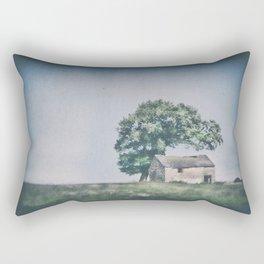 Peak District barn Rectangular Pillow