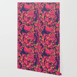 Boho Style No2, Floral pattern Wallpaper