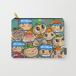 character of sticker line Carry-All Pouch