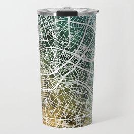 Berlin Germany City Map Travel Mug