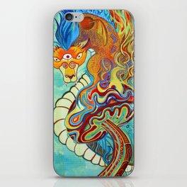 Mushroom Dragon iPhone Skin