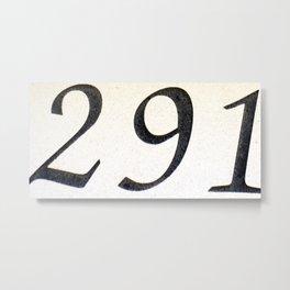 291 Metal Print