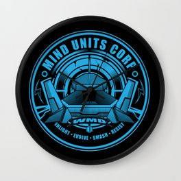 Mind Units Corp - Weapons of Mass Destruction Resistance Version Wall Clock
