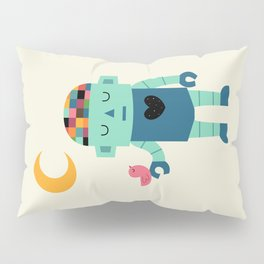 Robot Dreams Pillow Sham