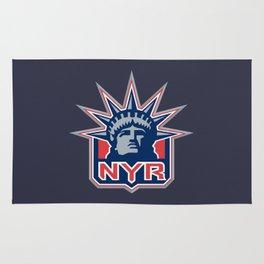 New York Ranger Rug