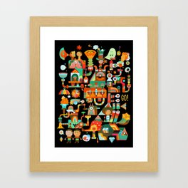 The Chipper Widget (Remix) Framed Art Print