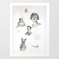 Family Ties Art Print