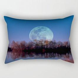 Luna arborum a tergo Rectangular Pillow