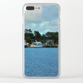 Calabash Waterfront Clear iPhone Case