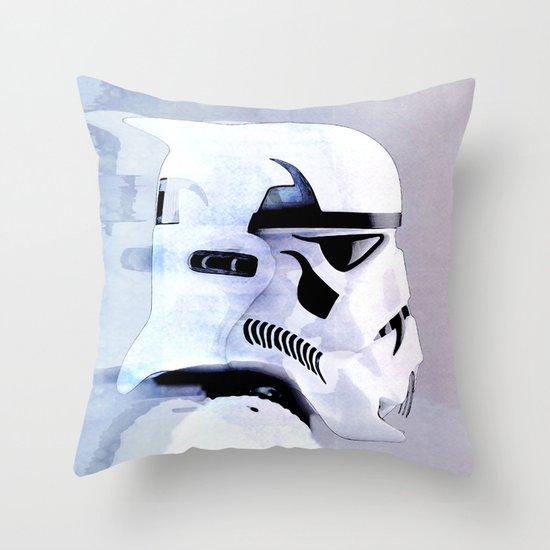 vampire trooper Throw Pillow