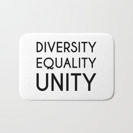 Diversity, Equality, Unity Bath Mat