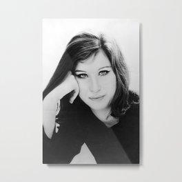young barbra streisand album 2020 ansel3 Metal Print