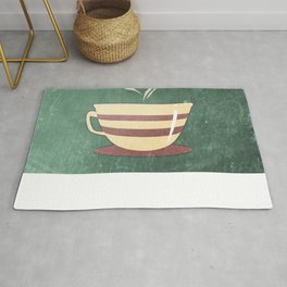 Coffee is love illustration Rug