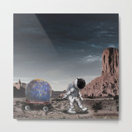 Found It Over There Metal Print