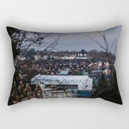 Pueblecito de inglaterra. Rectangular Pillow