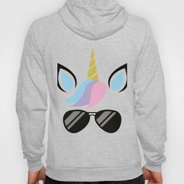I'm A Unicorn With glasses Costume - FUNNY HALLOWEEN Hoody