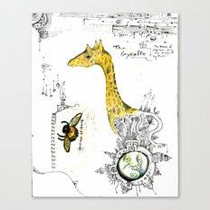 The Gyraffe Canvas Print