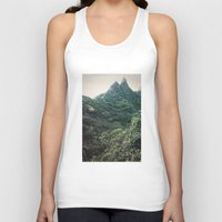 hawaii Tank Tops featuring Hawaii Mountain by Kurt Rahn