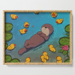 Otter Serving Tray