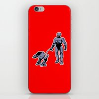 robocop iPhone & iPod Skins featuring Robocop by dutyfreak