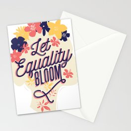 fire and water concept  Stationery Cards